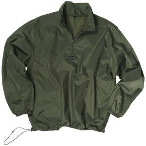 Mil-Tec Pull coupe-vent vert olive