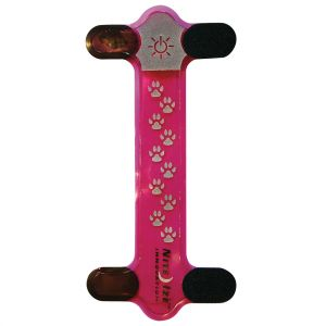 Nite Ize Ornement lumineux à LED rouge pour collier Nite Dawg rose