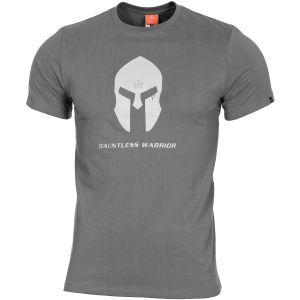 Pentagon T-shirt Ageron casque spartiate Wolf Grey