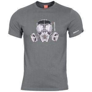 Pentagon T-shirt Ageron masque à gaz Wolf Grey