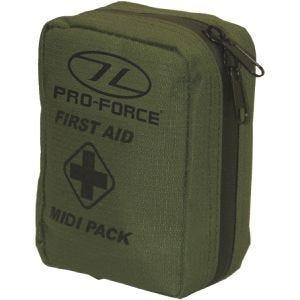 Pro-Force Trousse de secours First Aid Midi Pack vert olive