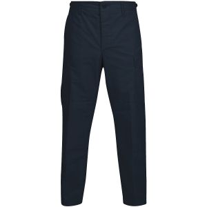 Propper Pantalon BDU en polycoton Ripstop avec braguette à boutons Dark Navy