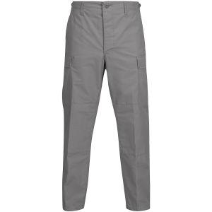 Propper Pantalon BDU en polycoton Ripstop avec braguette à boutons gris