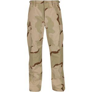 Propper Pantalon BDU en coton Ripstop à braguette boutonnée Desert tricolore
