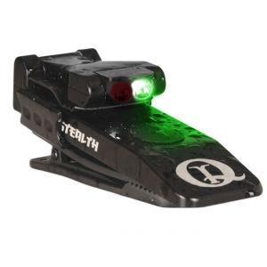 QuiqLite Lampe de poche infrarouge Stealth IR/à vision nocturne à LED verte