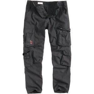 Surplis Pantalon Airbone Slimmy noir délavé