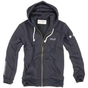 Surplus Sweatshirt à capuche Stars noir
