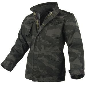 Surplus Veste M65 Regiment Black Camo