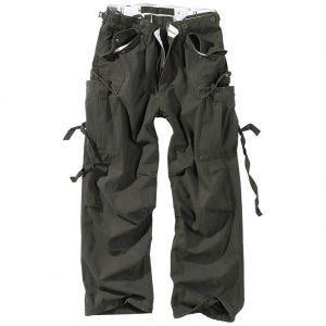 Surplus Pantalon treillis Vintage noir