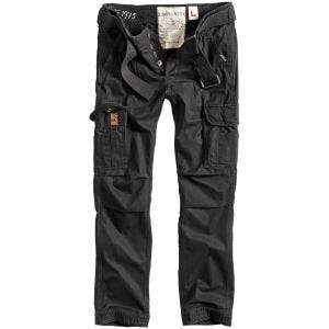 Surplus Pantalon Premimum Slimmy noir délavé