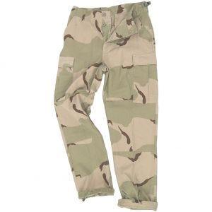 Teesar Pantalon BDU en Ripstop Desert tricolore
