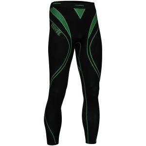 Tervel Legging de sport Optiline noir/vert