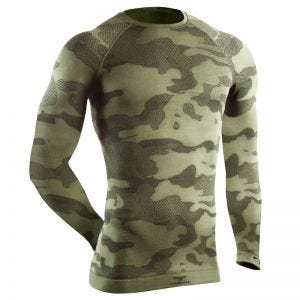 Tervel Maillot tactique à manches longues Optiline Military/gris