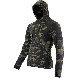 Viper Sweatshirt à capuche Tactical en polaire V-Cam Black