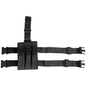 Viper Holster de cuisse avec porte-chargeurs pour MP5 noir