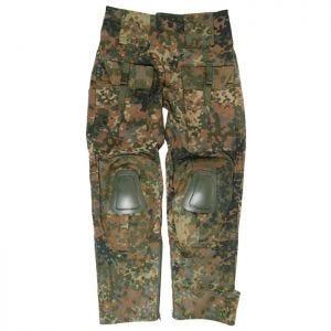 Mil-Tec Pantalon Warrior avec genouillères Flecktarn