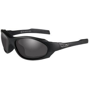Wiley X Lunettes XL-1 Advanced COMM avec verres couleur gris fumé + transparents et monture noire mate