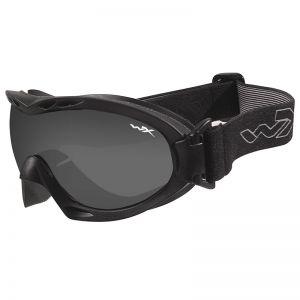 Wiley X Masque Nerve avec verres couleur gris fumé + transparents et monture noire mate