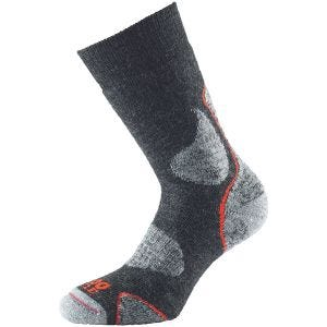 1000 Mile Chaussettes 3 Season Walk Charcoal