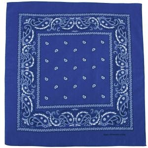 MFH Bandana en coton Royal White