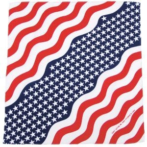 MFH Bandana en coton Stars and Stripes