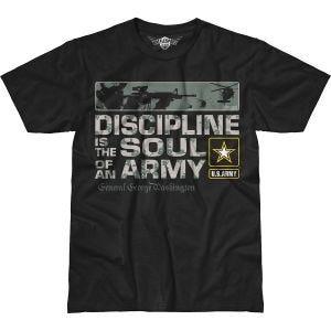 7.62 Design T-shirt Army Discipline Battlespace noir