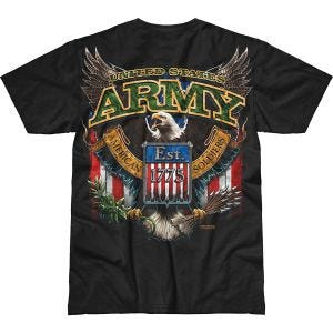 7.62 Design T-shirt Army Fighting Eagle Battlespace noir