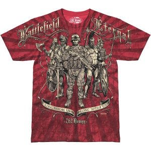 7.62 Design T-shirt Battlefield Eternal Scarlet