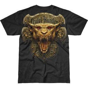 7.62 Design T-shirt USMC Devil Dog Battlespace noir