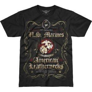 7.62 Design T-shirt USMC Fighting Spirit Battlespace noir