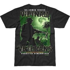 7.62 Design T-shirt Vietnam Veterans Remembered Battlespace noir