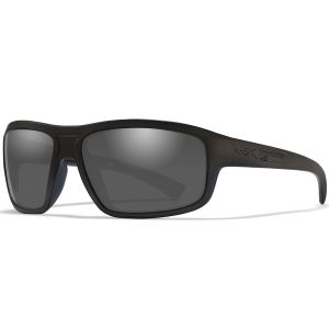 Wiley X WX Contend Glasses - Smoke Grey Lens / Matte Black Frame