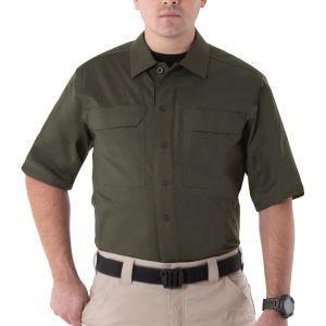 First Tactical Men's V2 Short Sleeve Tactical Shirt OD Green