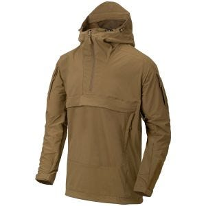 Helikon Anorak Mistral Soft Shell Jacket Mud Brown