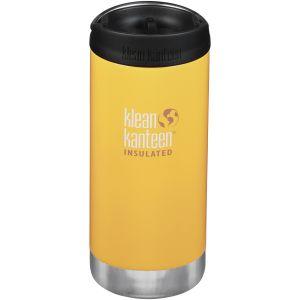 Klean Kanteen TKWide Gourde isolante 355 ml avec Bouchon Café 2.0 Lemon Curry