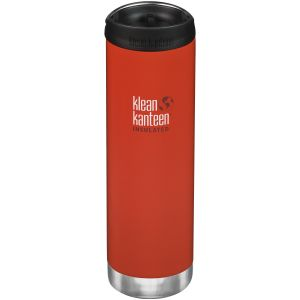 Klean Kanteen TKWide 591ml Insulated Bottle Cafe Cap Post Box Red