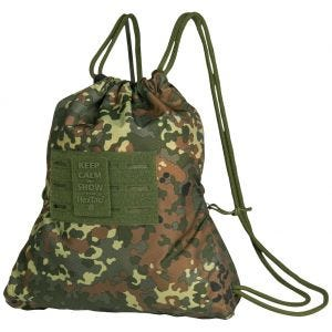 Mil-Tec Sports Bag HexTac Flecktarn