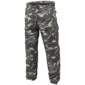Mil-Tec Pantalon militaire BDU Ranger Digital Black