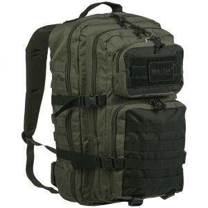 Mil-Tec Sac à dos US Assault MOLLE grande taille Ranger Green/Noir