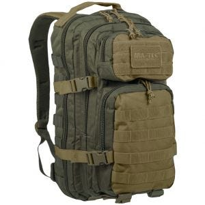 Mil-Tec Sac à dos US Assault MOLLE petite taille Ranger Green/Coyote