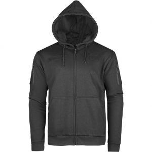 Mil-Tec Tactical Zipped Hoodie Black
