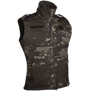 Mil-Tec Gilet Softshell Multitarn Black