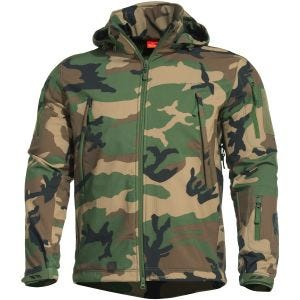 Pentagon Veste Softshell Artaxes Woodland