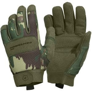 Pentagon Gants Duty Mechanic Greek Lizard