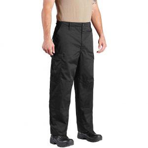 Propper Pantalon BDU en polycoton sergé avec braguette à boutons Noir