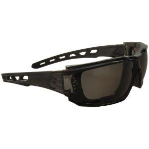 Swiss Eye Lunettes de soleil Net à monture noire/verres noirs fumés