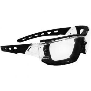 Swiss Eye Lunettes de soleil Net à monture transparente/noire verres transparents