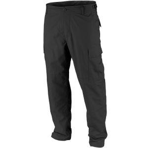 Teesar Pantalon BDU en Ripstop noir