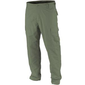 Teesar Pantalon BDU prélavé en Ripstop vert olive
