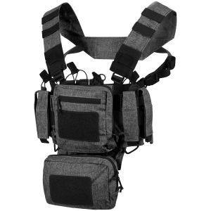 Helikon Gilet de combat Training Mini Rig Melange Noir Gris